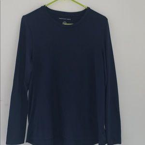 American Eagle Soft Blue Long Sleeve